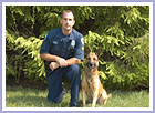 Jeff and Barry have been with the unit for may years. All dogs with this unit were trained by Steve